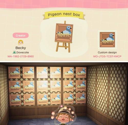 """qr-closet: """"pigeon nest boxes 🐣 """""""