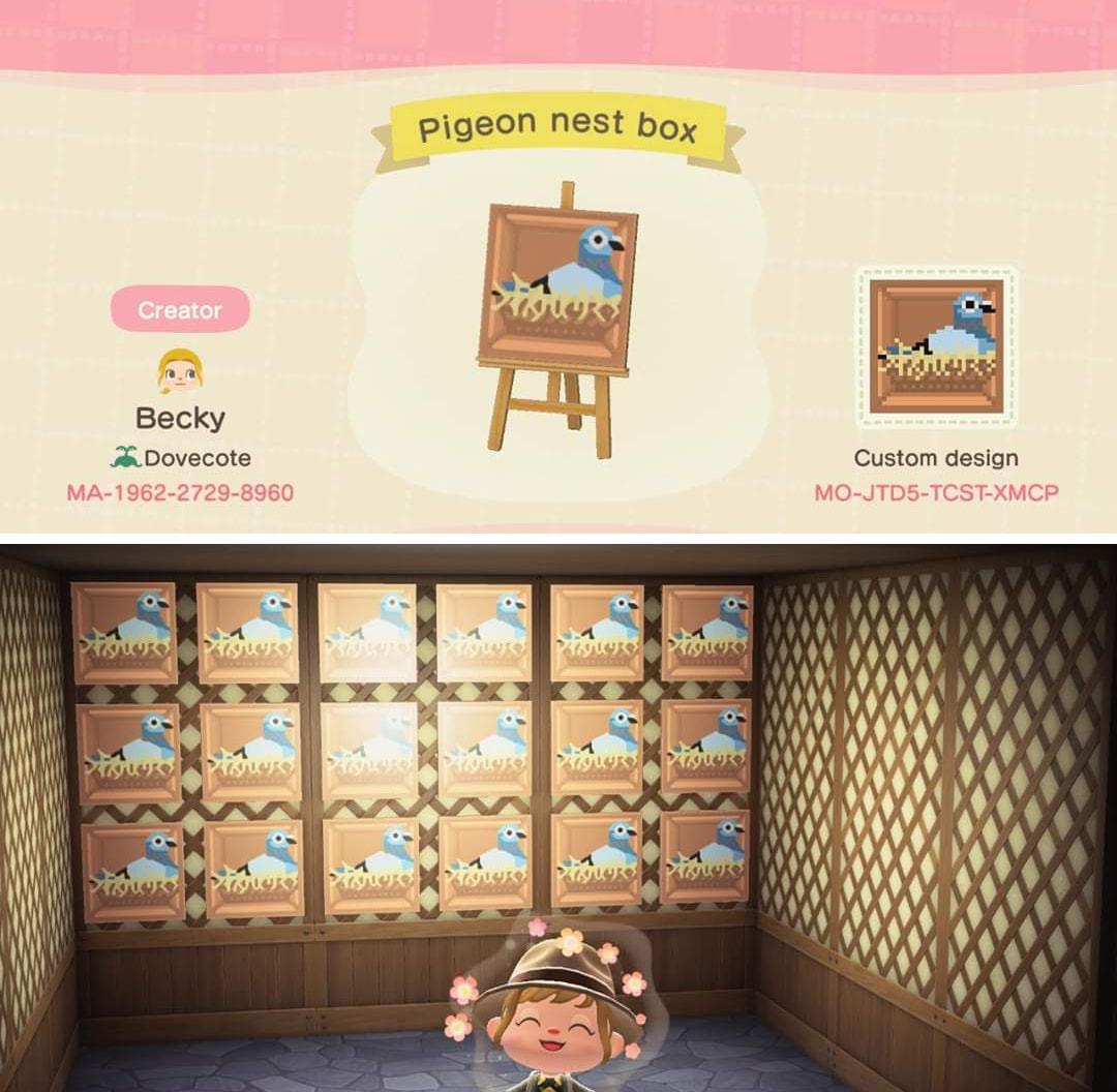Bidoof Crossing - qr-closet: pigeon nest boxes 🐣