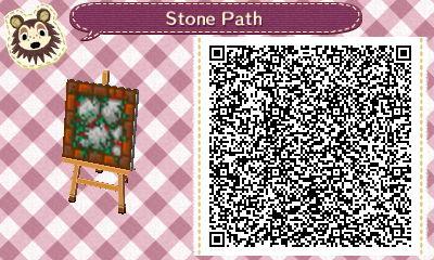 New Horizon / Leaf QR Code Paths