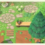 qr-closet: circular and oval shaped stone paths