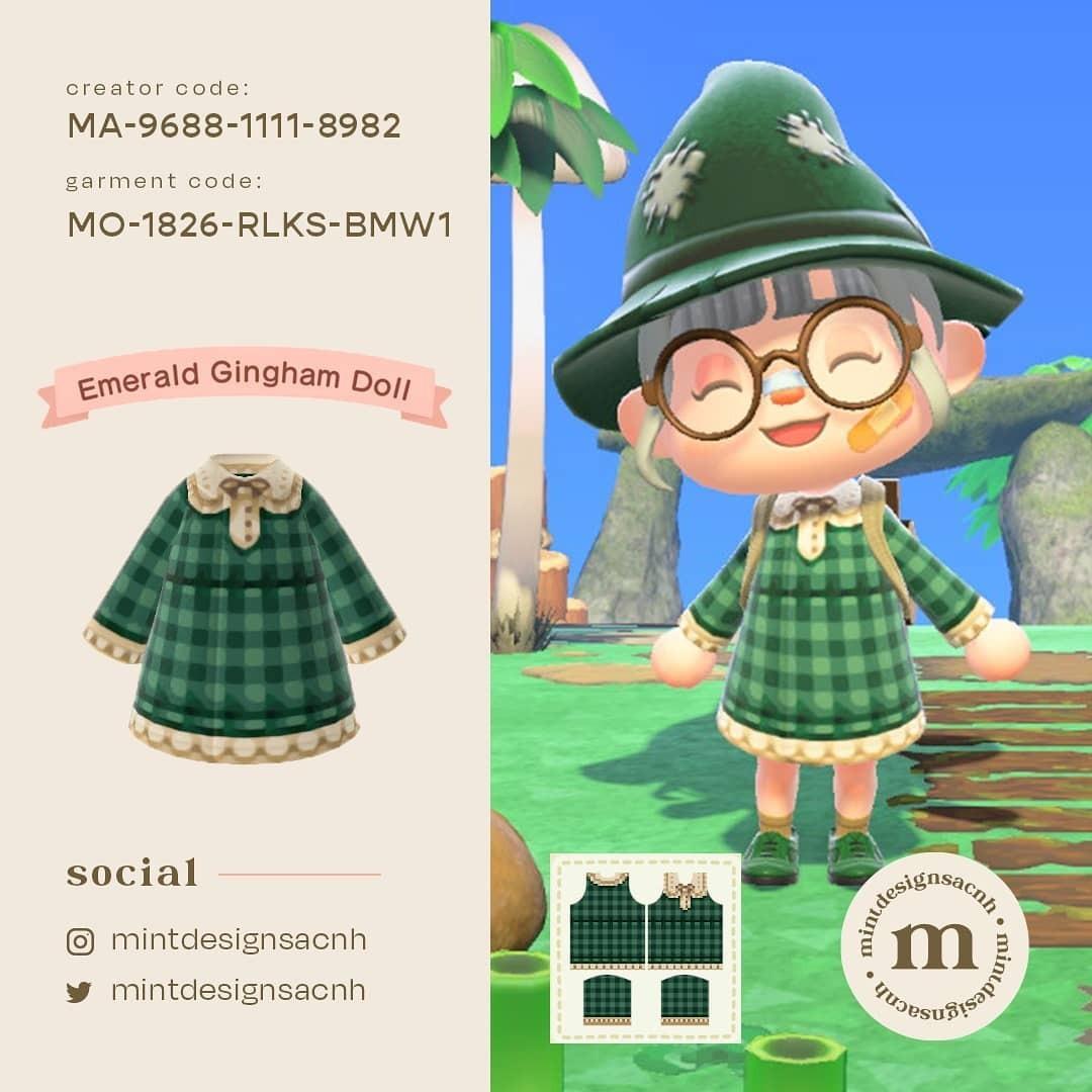 Bidoof Crossing - qr-closet: gingham dresses ✨