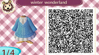 ACNH QR Based off a dress I saw online, enjoy!