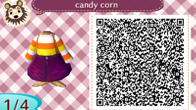 ACNH QR Hello everyone! It's been almost 2 years since I've posted anything on here I don't play new leaf that much anymore but I wanted to come back to this account because I'm so excited for new horizons and I wanted to share some new designs I've made just in time for Halloween! Enjoy! I'm happy to be back! 🧡
