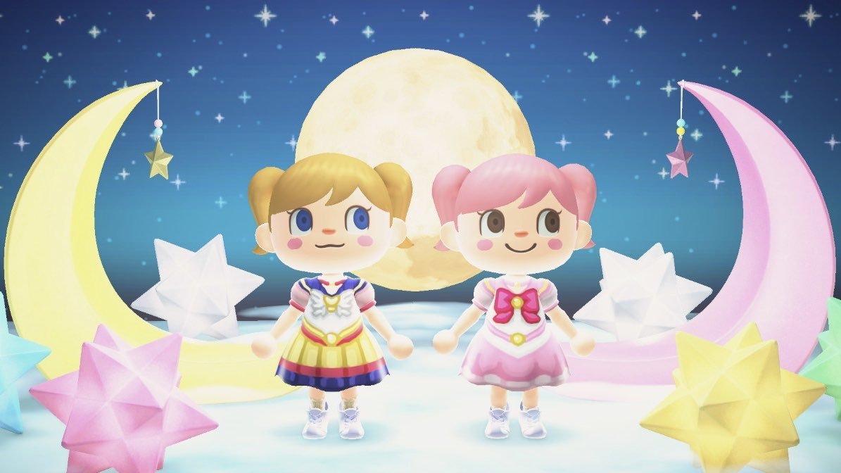 Bidoof Crossing - qr-closet: sailor moon dresses 🌙