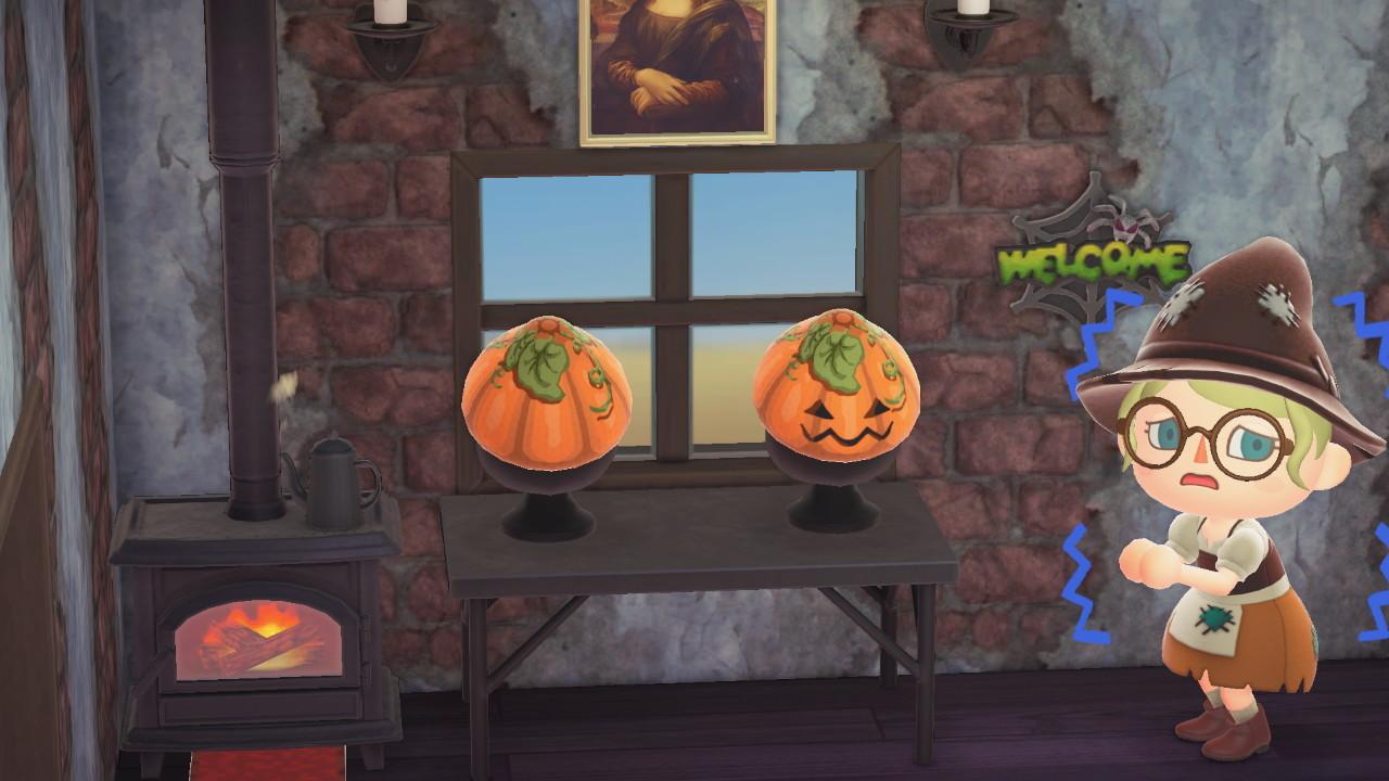 Bidoof Crossing - qr-closet: halloween pumpkins 🎃