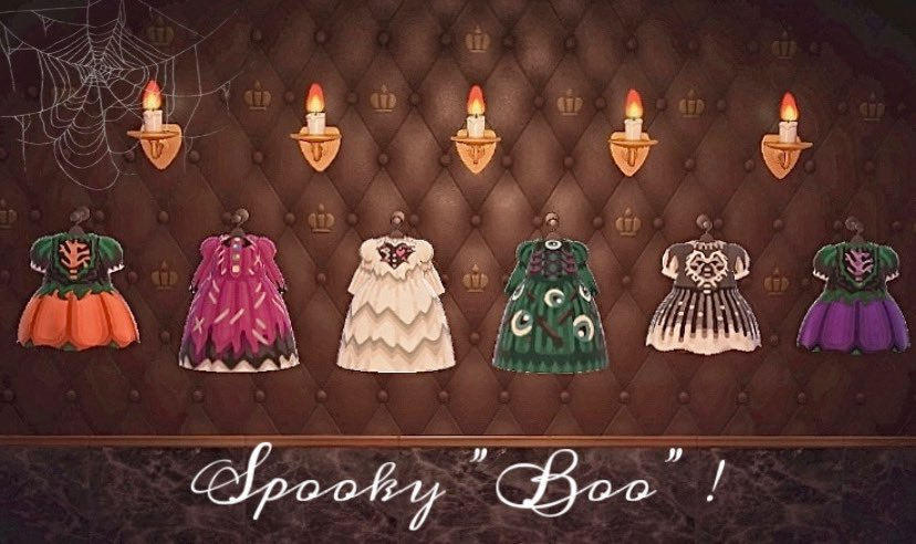 qr-closet:  spooky dress collection 🖤