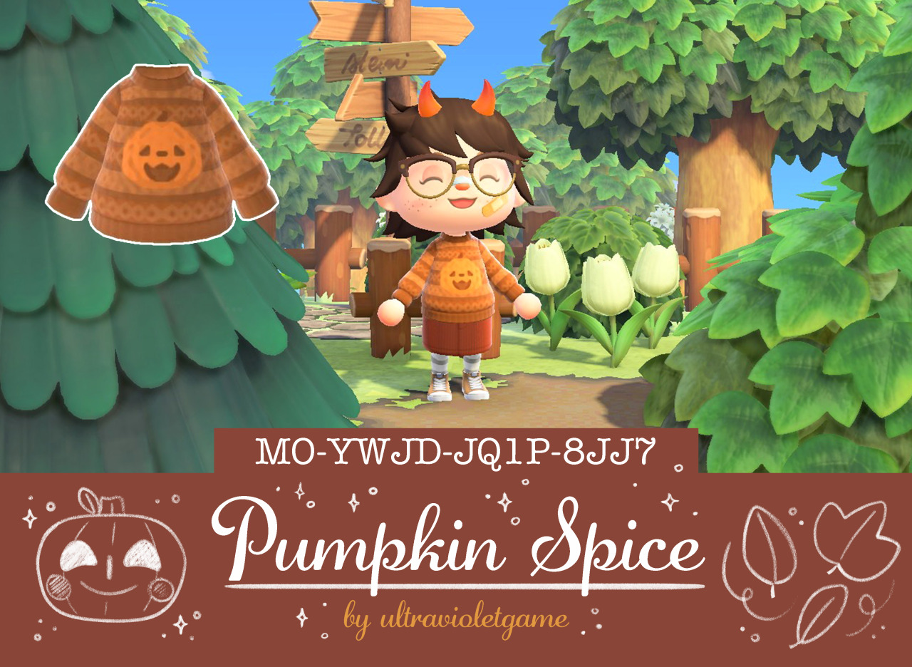 ultravioletgame:  🎃 Pumpkin spice 🎃 Here's a cozy festive...