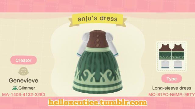 Inspired by Anju from The Legend of Zelda, enjoy!