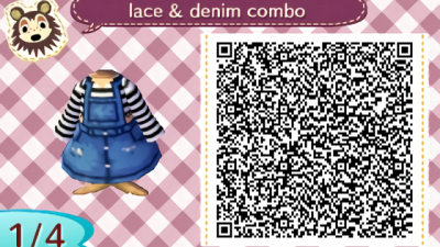 ACNH QR Some recolors for a friend! 😊