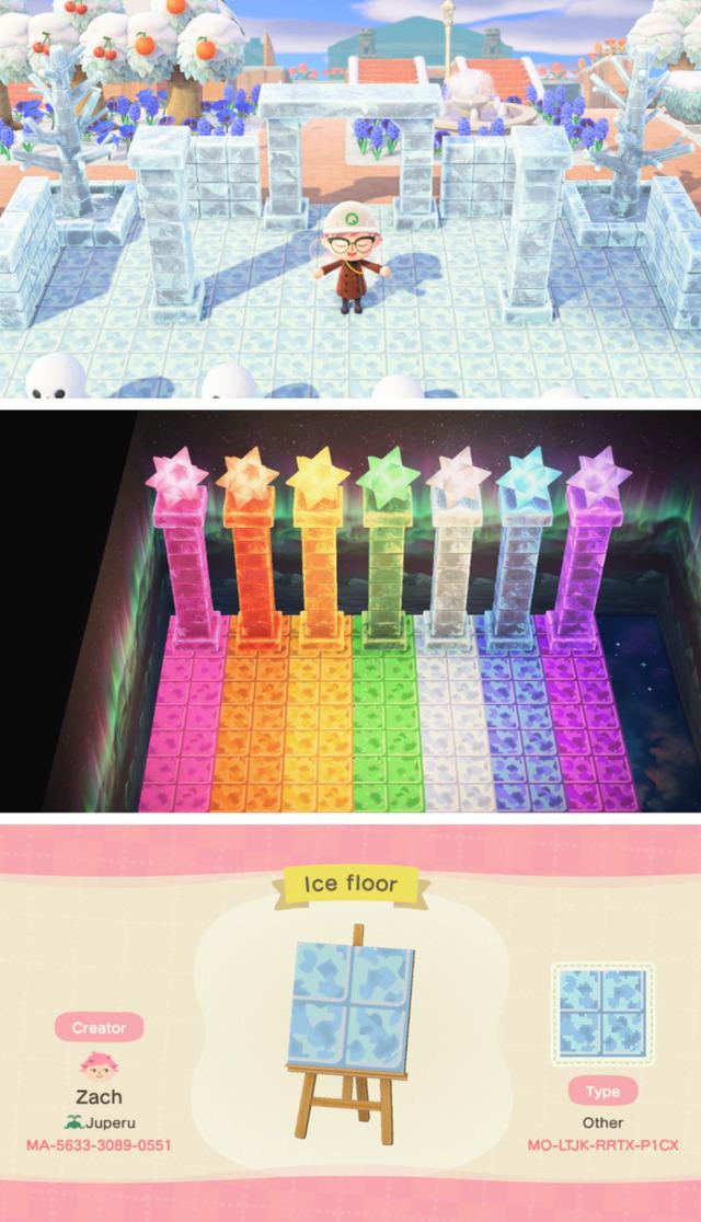 qr-closet:  ice floor that matches the ice furniture 🧊