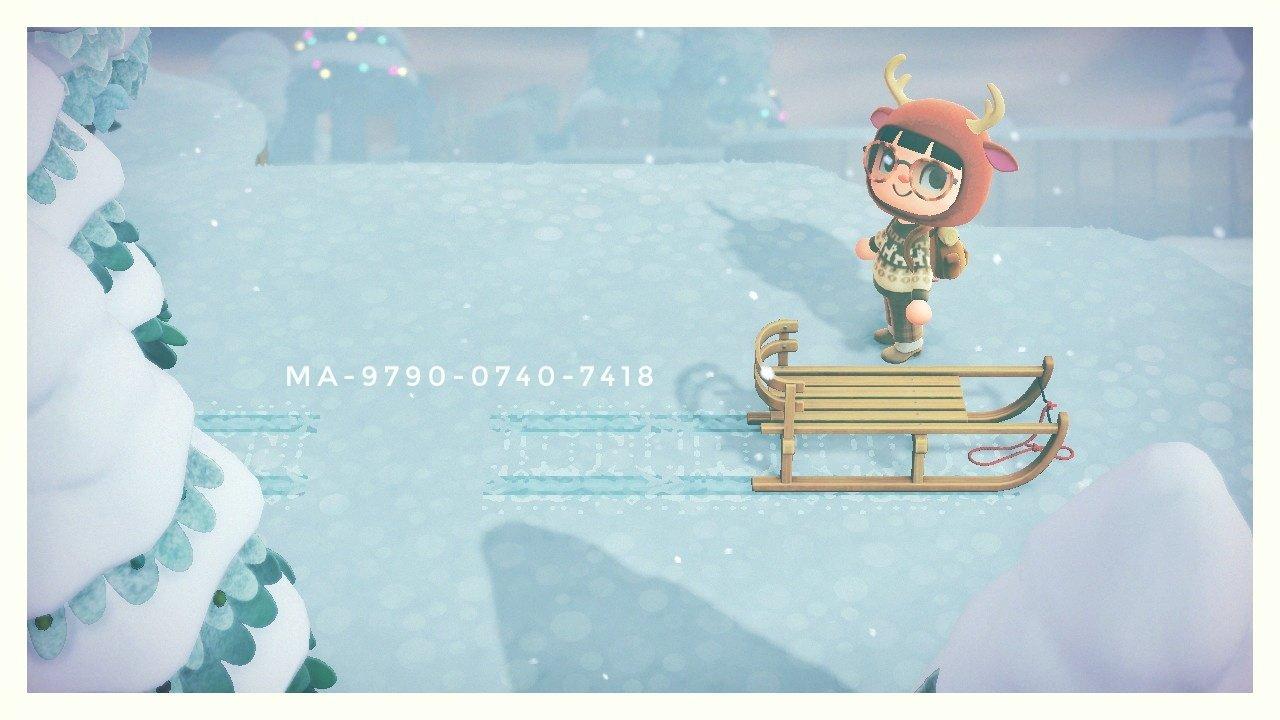 qr-closet:sleigh tracks 🛷