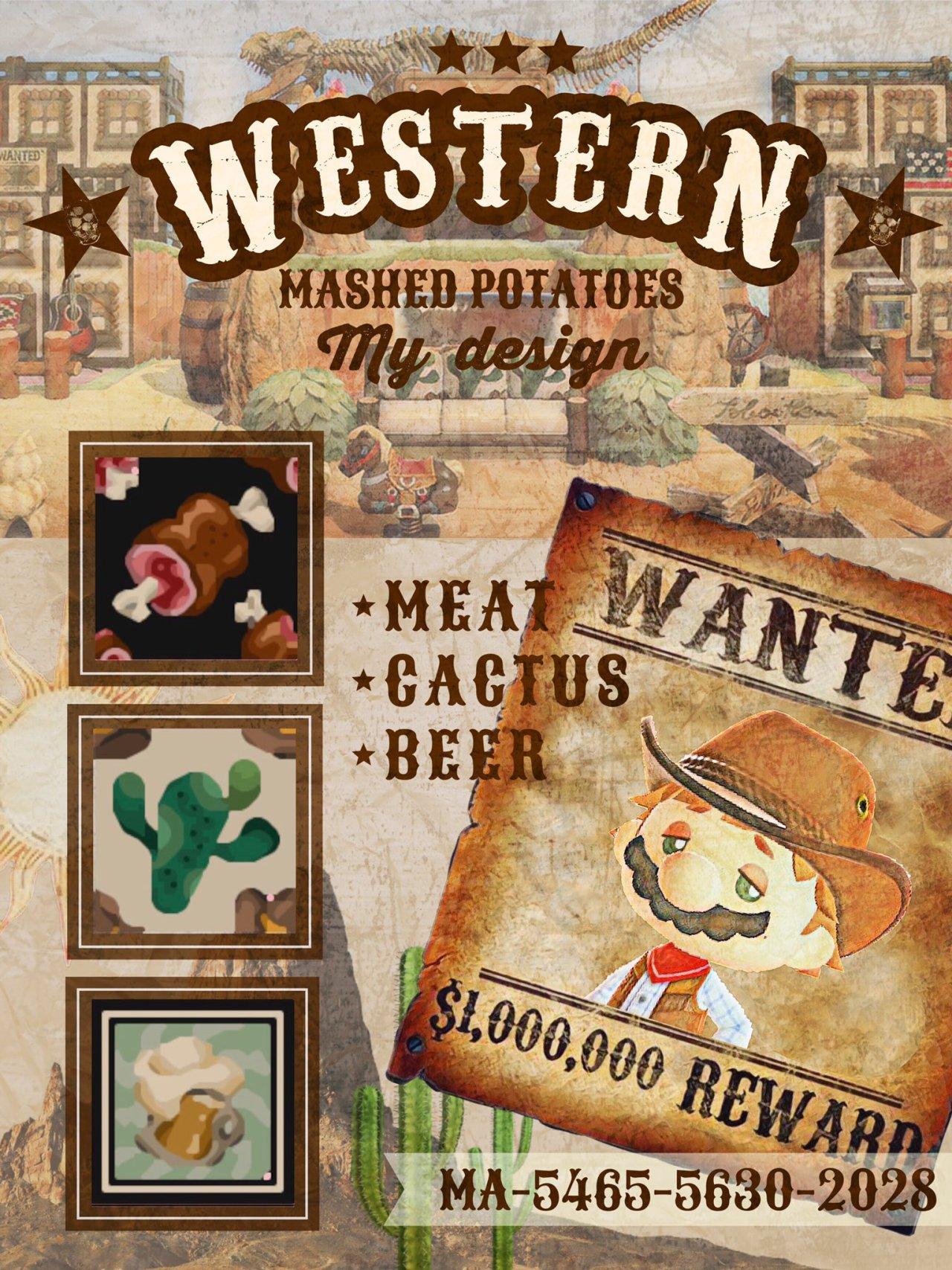 qr-closet:western fabrics - meat, cactus, & beer ✨