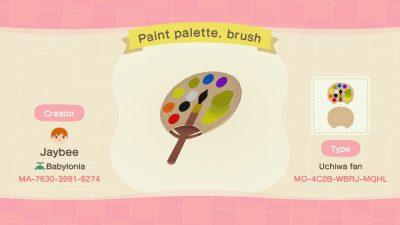 ACNH QR Codes qr-closet:paint palette ✨