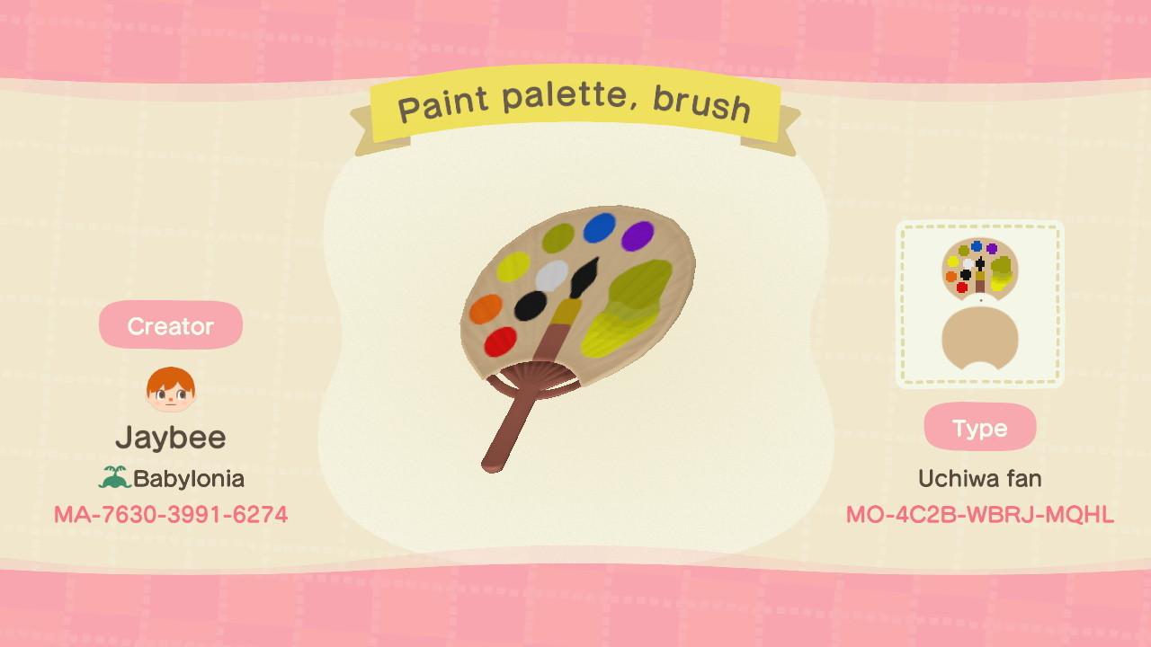 qr-closet:paint palette ✨
