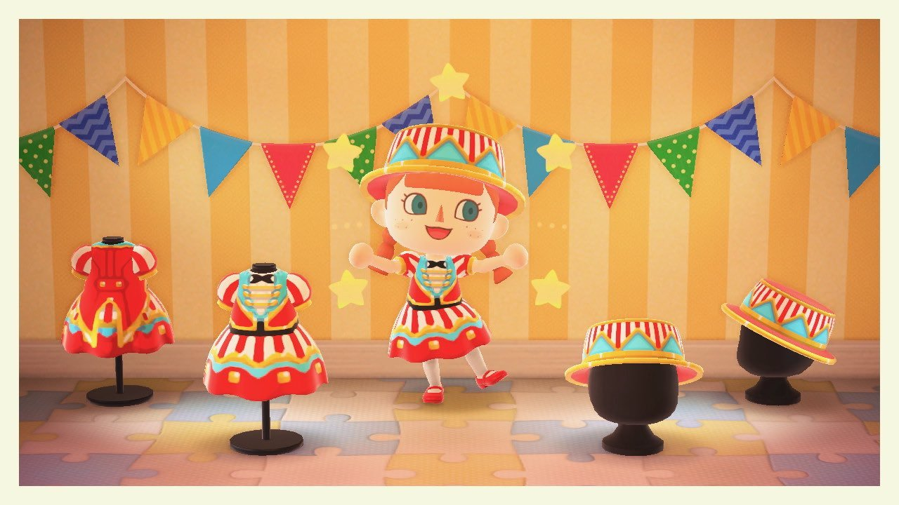 qr-closet:circus outfit from pocket camp ✨