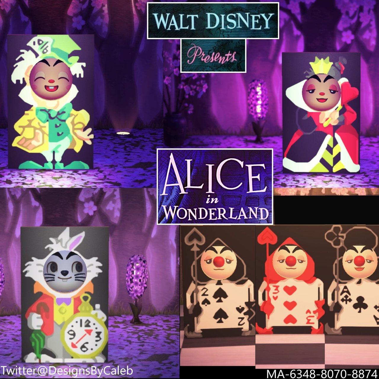 qr-closet:alice in wonderland standees ✨