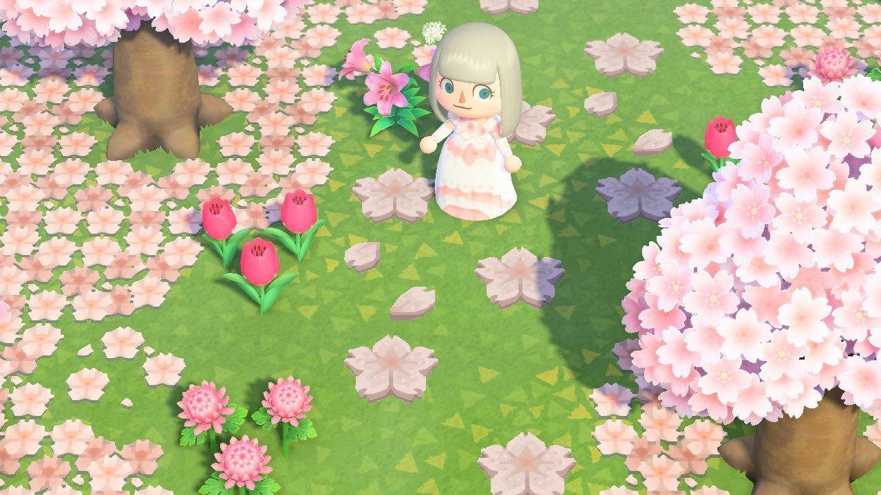 qr-closet:cherry blossom stepping stones ✨