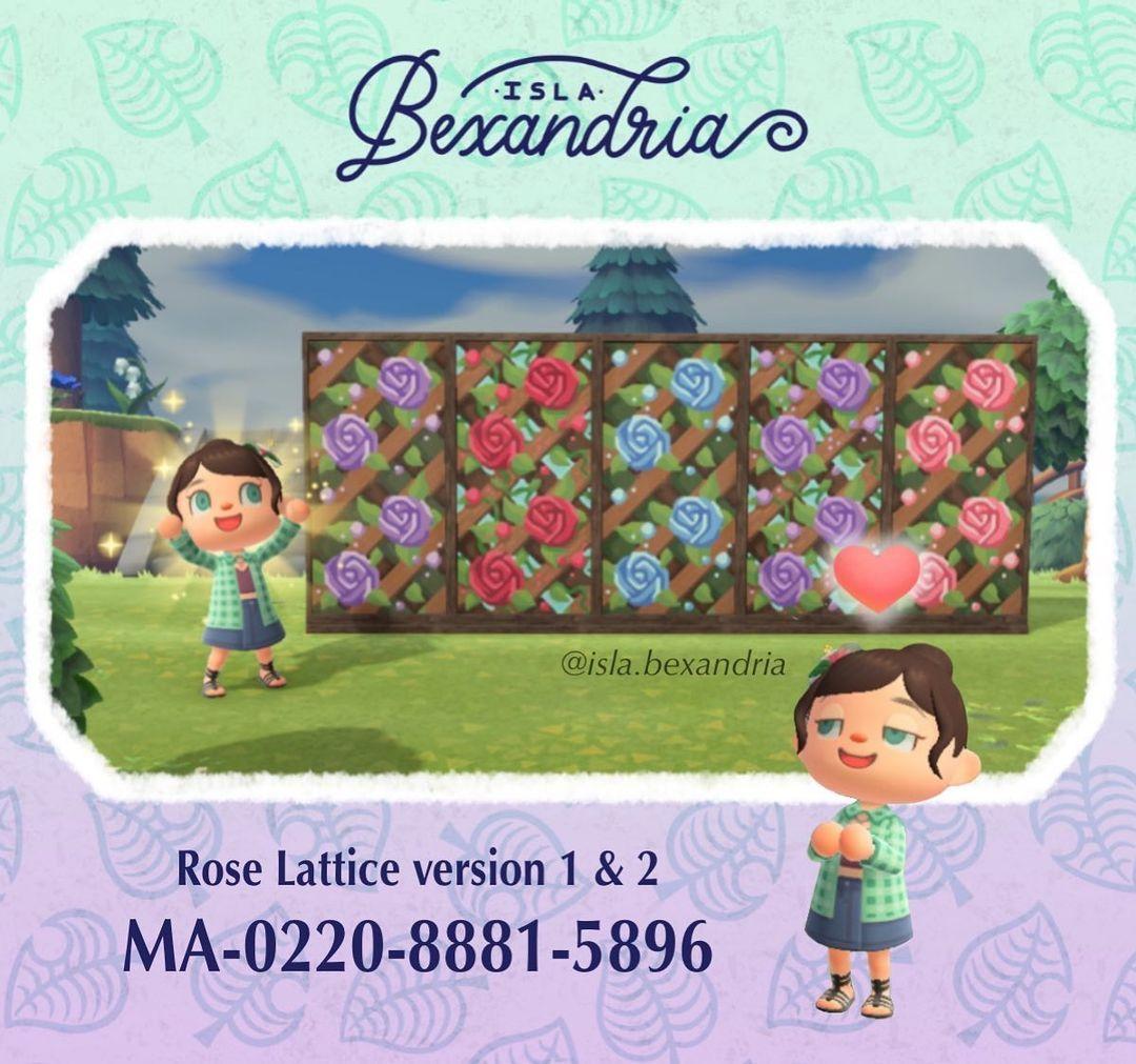 qr-closet:rose lattice ✨