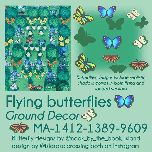 qr-closet:  flying butterflies ✨