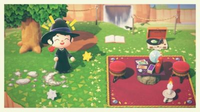 ACNL QR Codes mindhoney:hey all! i made a velvet rug to pair with the velvet stools 🖤 i also made a transparent…