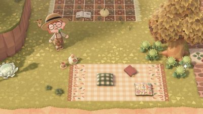 ACNL QR Codes moonbell-cottage:New blanket design