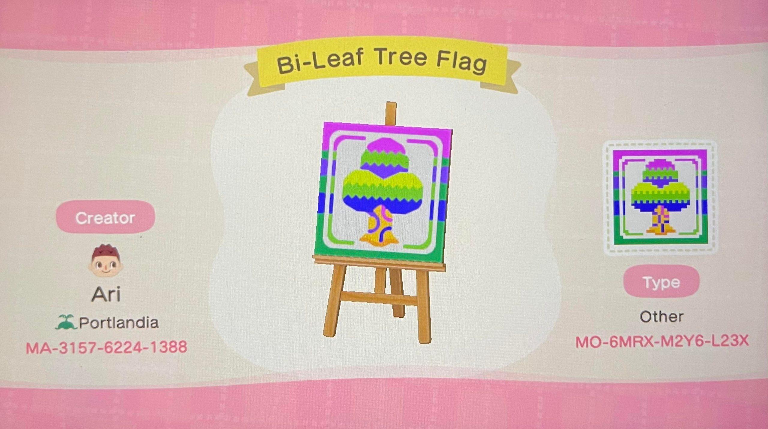 Bi flag for pride month