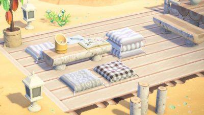 Animal Crossing: Book club is meeting on the beach this week