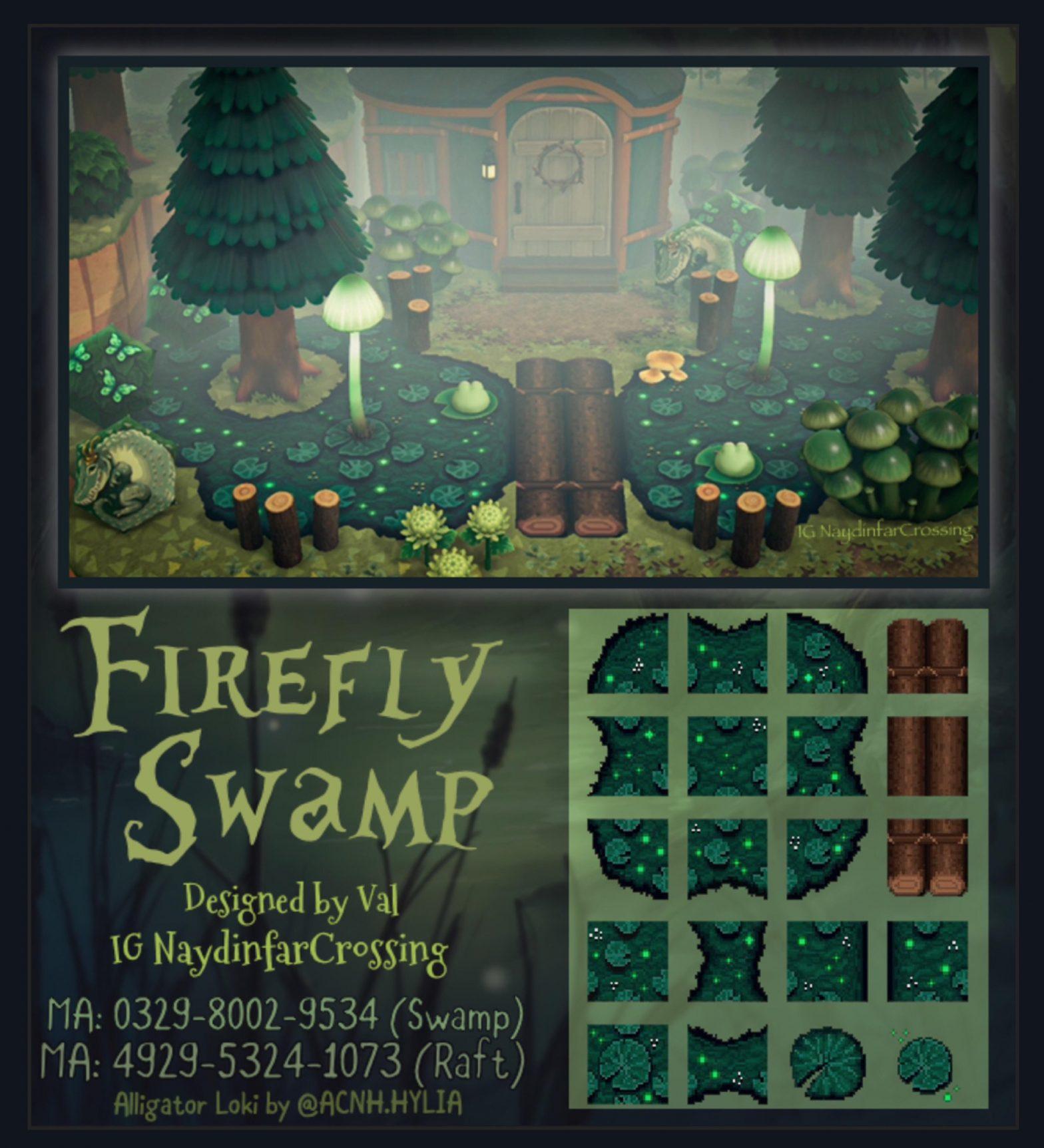 FireFly Swamp Path