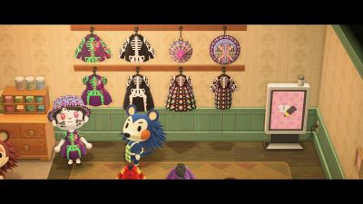 Animal Crossing: Happy Halloween and early Dia de los Muertos! I was inspired to finally do my own collection and hung most of them up! I'm pretty happy with these. And it was fun. Hope you guys enjoy!