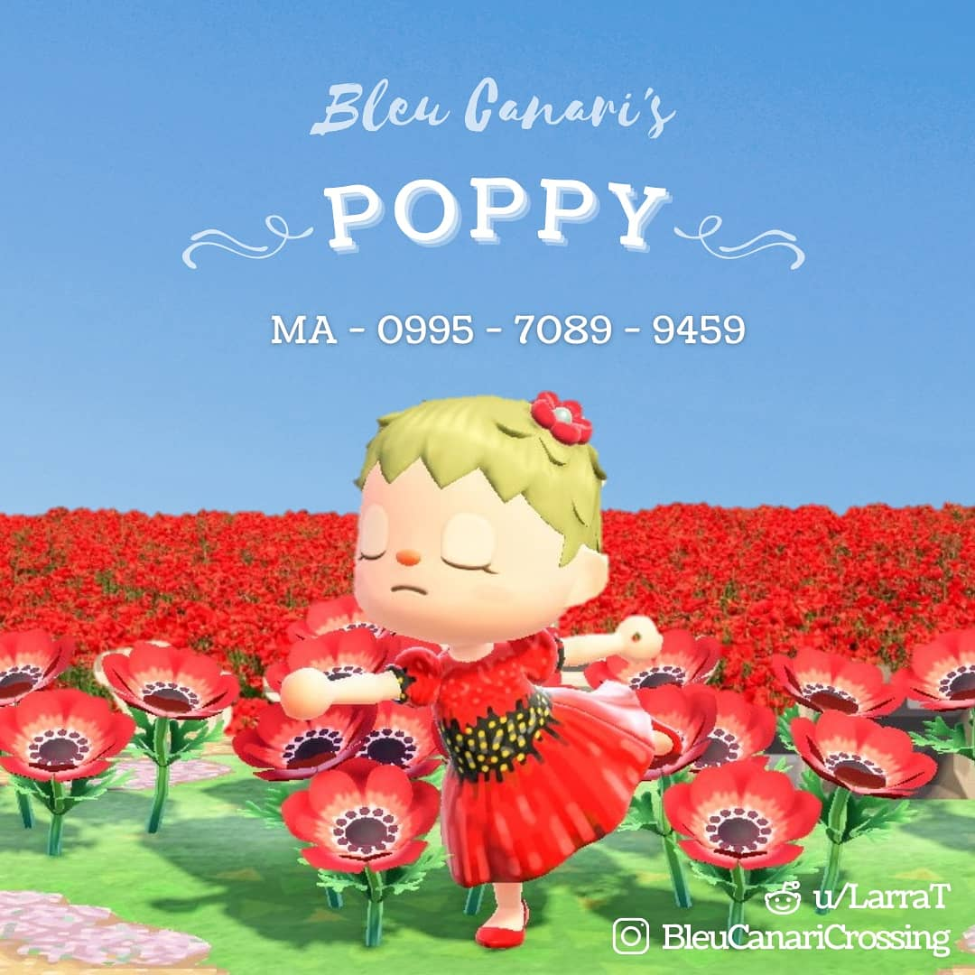 """I created a dress for National Poppy day, where we wear a red poppy to honor those killed in war. The red poppy has been the symbol of support since John McCrae wrote """"In Flanders Fields"""" in World War I. As we enter the Memorial Day weekend, take a moment to remember those Fallen. ❤️"""