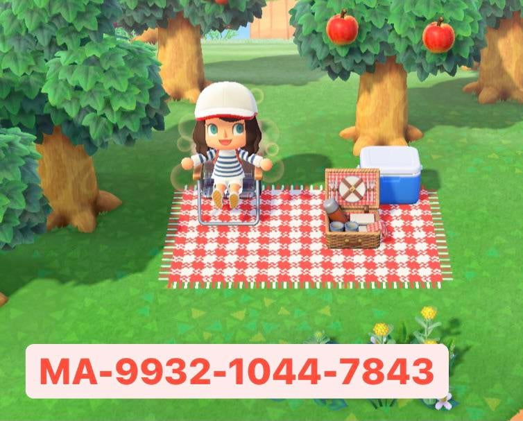 I have made this carpet for a little pic-nic !