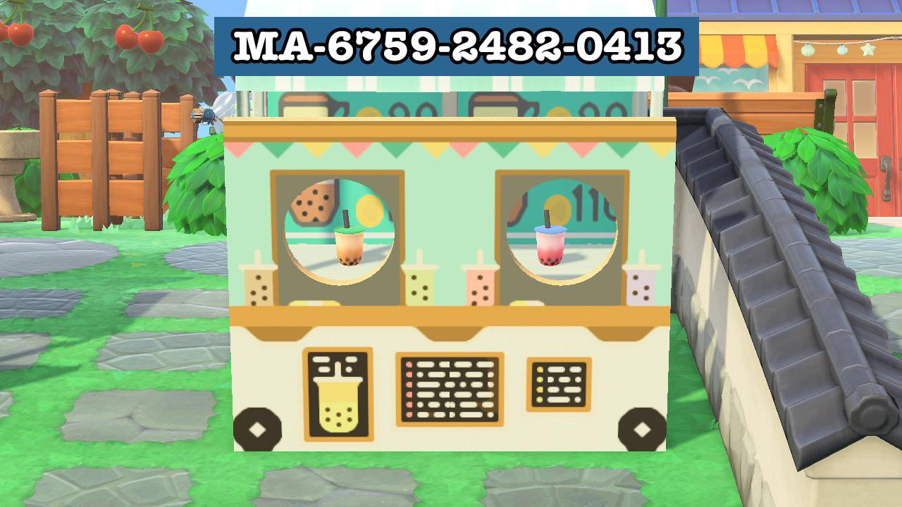 I made a boba cart for all your boba cart needs!