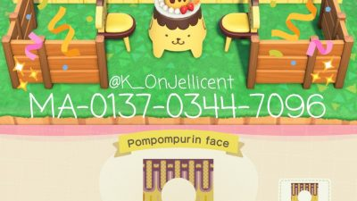 Animal Crossing: I made some Pompompurin standees! 💛🌈