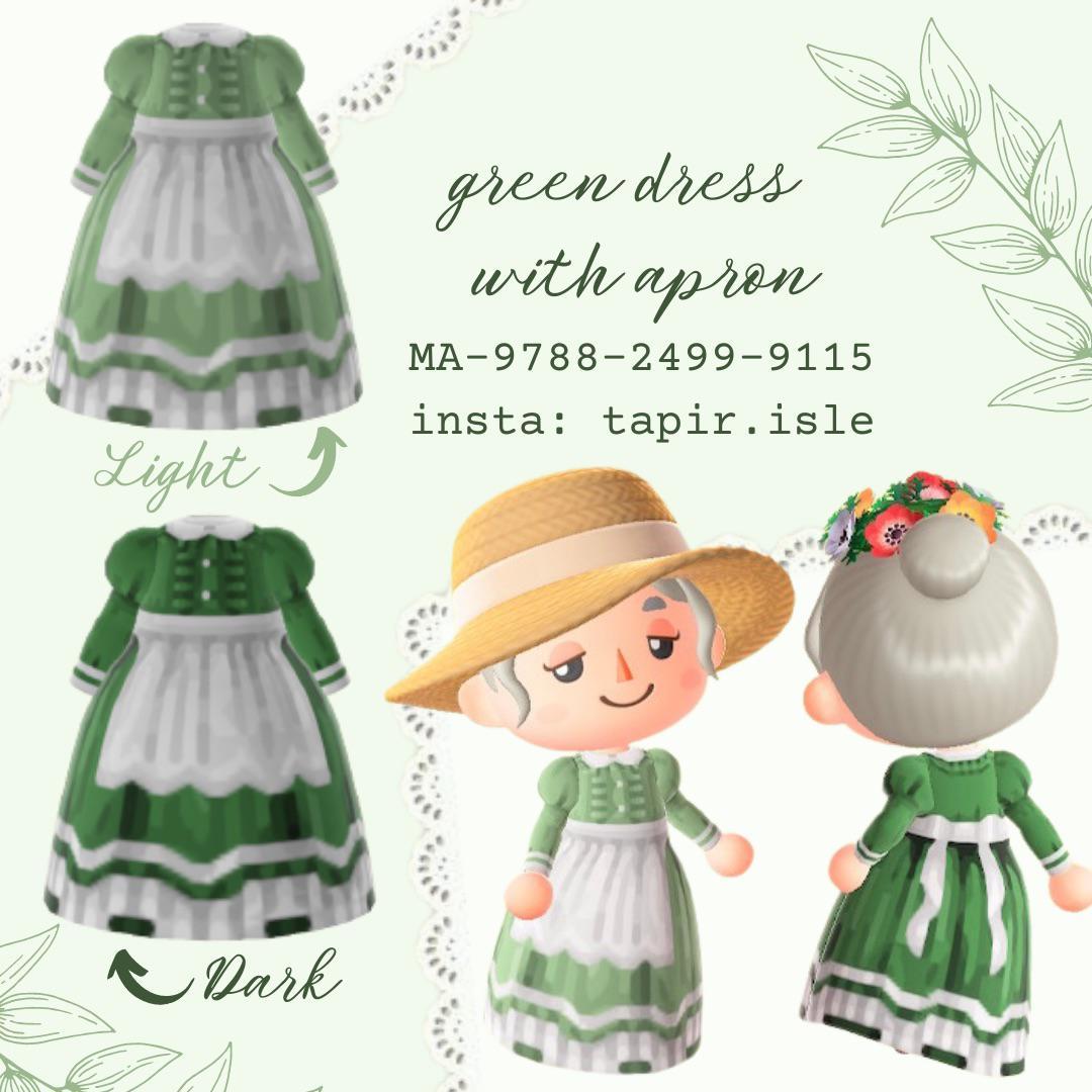 I made some apron dresses today 🌱