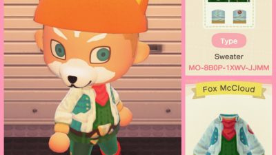 Animal Crossing: I remade my Fox design