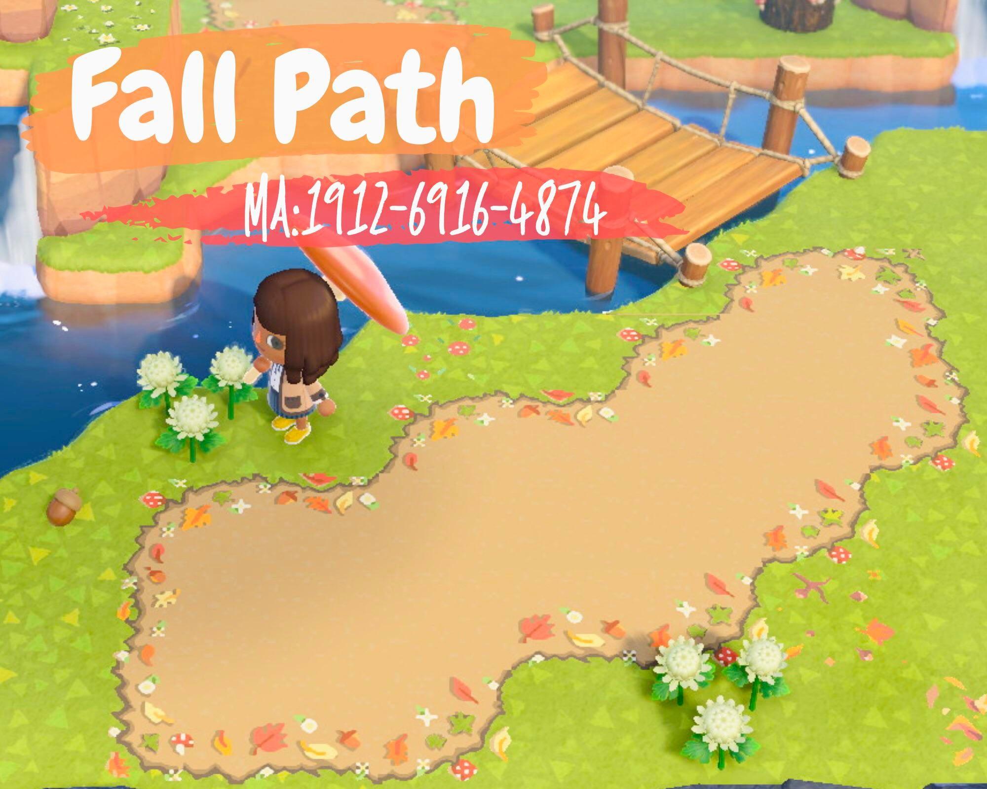 Made a Cute Detailed Fall Path 🥺