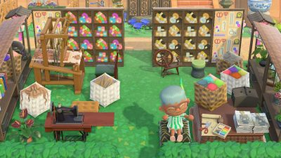 Animal Crossing: Made a bunch of fiber related designs. MA-6973-8025-2964. Enjoy!