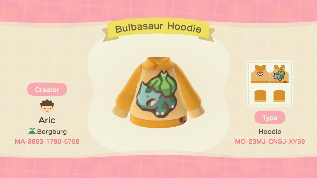 Made a hoodie featuring the best Pokémon out there ;) As the weather continues to cool down, let Bulbasaur keep you warm!