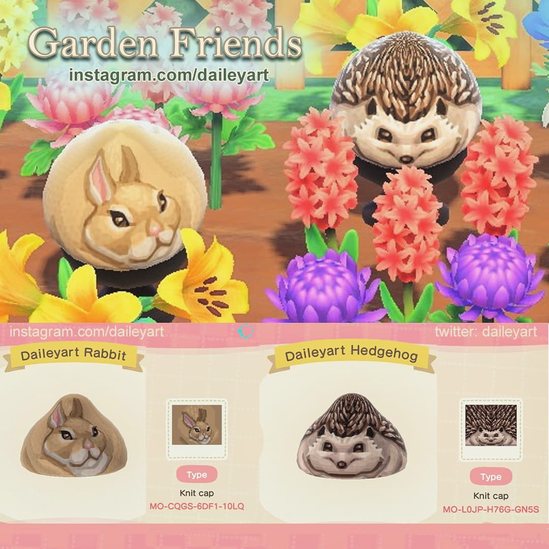 Made some animals for gardens or forests!