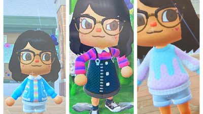 Animal Crossing: My contribution to pride month ft lgbt+, bi, and trans designs