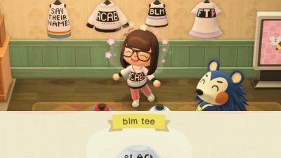 Animal Crossing: My first attempt(s) at custom design! BLM!