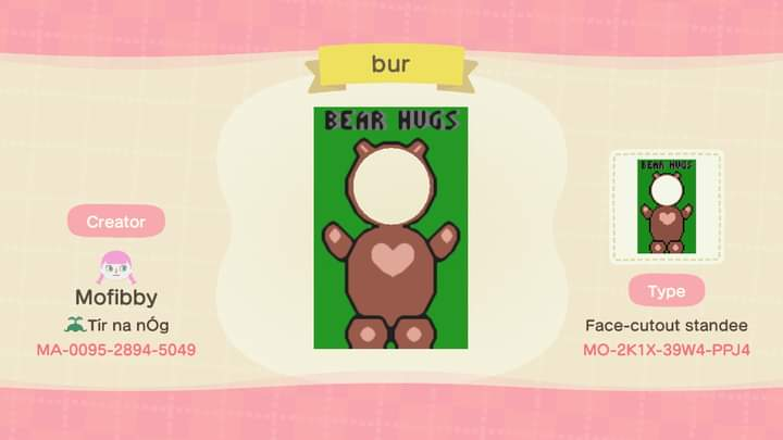 My first foray into the new pro design options - a bear hugs stand!