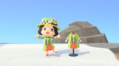 Animal Crossing: My version of a mad hatter outfit!MA-7384-3313-6352