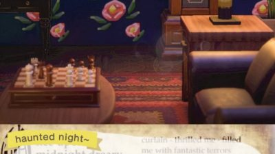 Animal Crossing: Once upon a midnight dreary…