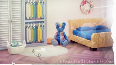 Animal Crossing: Open clothes closet