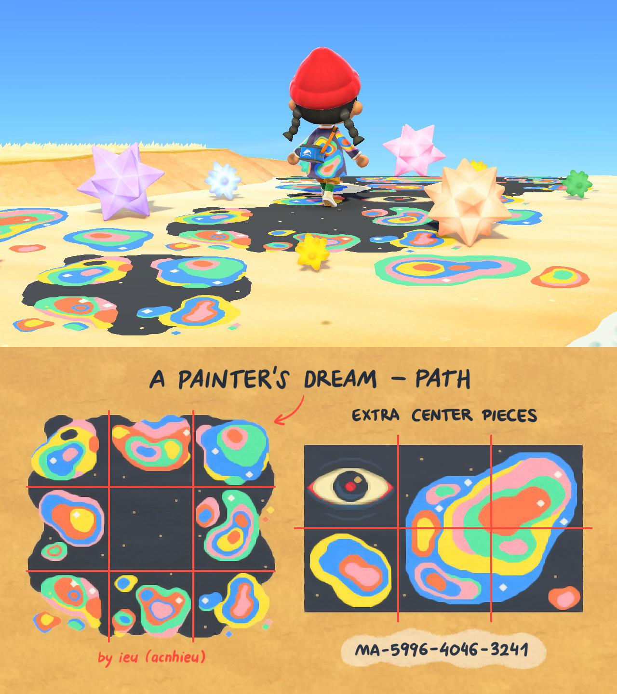 Paint spill path!