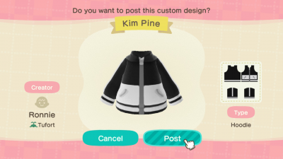 Animal Crossing: Scott Pilgrim Themed Outfits