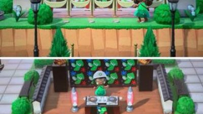 Animal Crossing: Squid party!