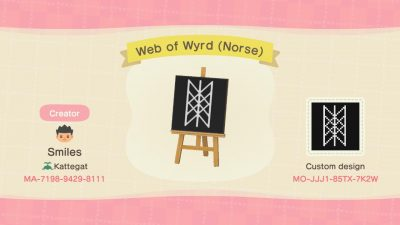 Animal Crossing: Web of Wyrd (Norse Viking Symbol)