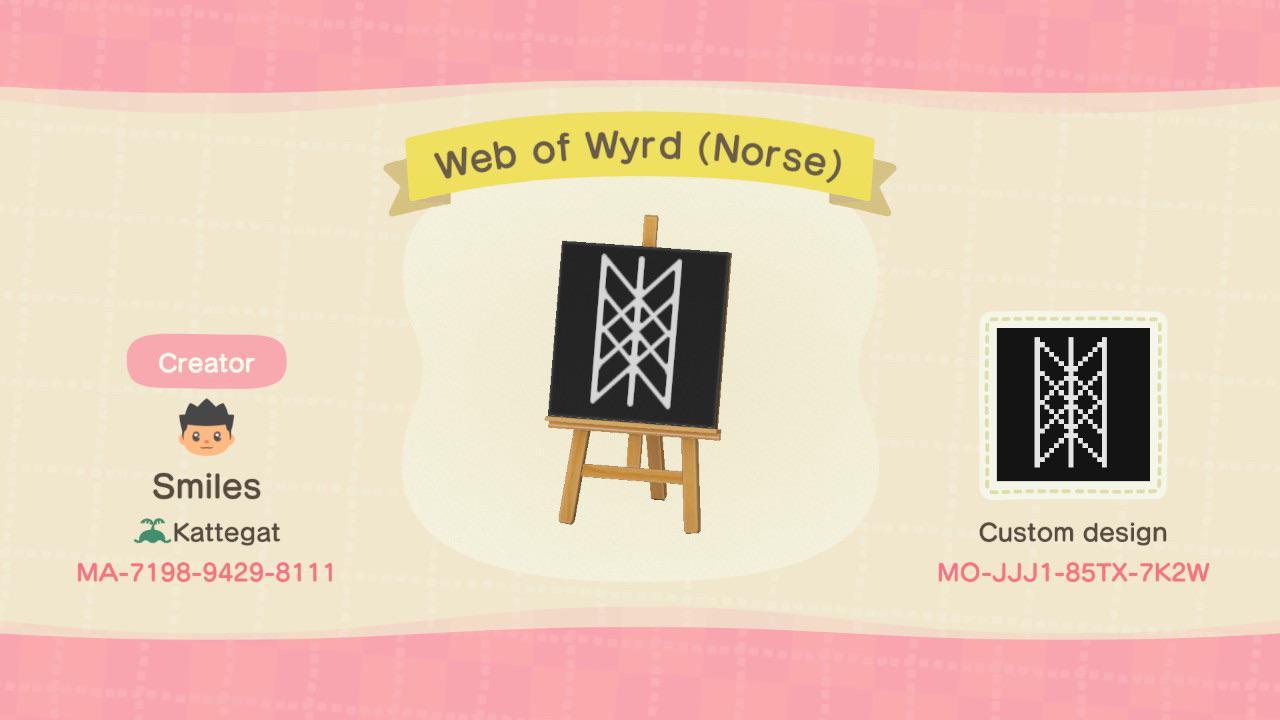 Web of Wyrd (Norse Viking Symbol)